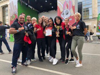 Команда Департамента образования и науки города Москвы заняла 1 место на фестивале Всероссийского физкультурно-спортивного комплекса «ГТО»!