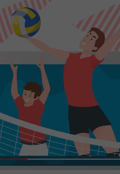 Челлендж по волейболу «Первым темпом»