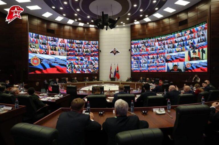 Итоги работы «ЮНАРМИИ» за год подвели на всероссийском слете онлайн