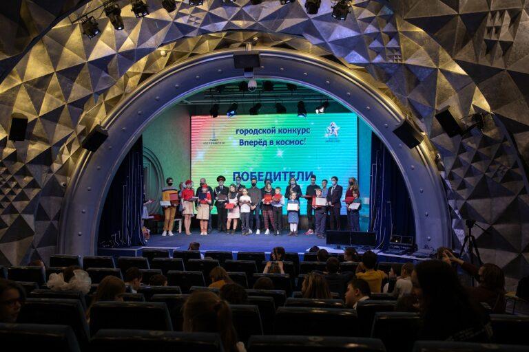 В Музее космонавтики наградили победителей конкурса «Вперед, в космос!»