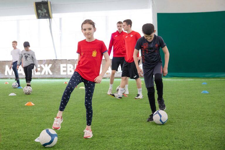 Мастер-классы от спортсменов мини-футбольного клуба «Спартак» прошли в Москве