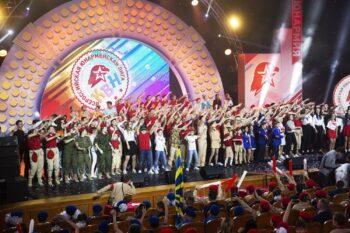 В столице выбрали победителя Московской юнармейской лиги КВН
