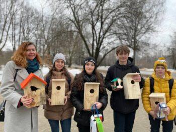 Московские школьники отметили Международный день птиц