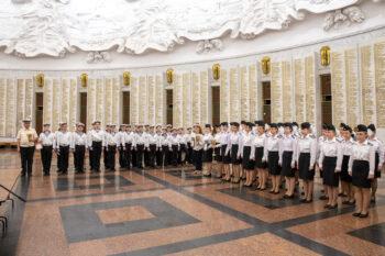 В Москве подвели итоги смотра строя и песни «Марш победителям!»