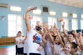 Более 2 тыс. школьников Москвы встретились с известными спортсменами в рамках проекта «Урок с чемпионом»