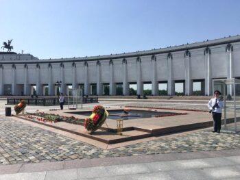 Московские кадеты почтили память погибших в Великой Отечественной войне