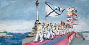 «Свободная стихия»: в Москве подвели итоги конкурса рисунков ко Дню Военно-Морского Флота России