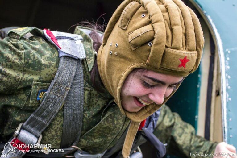 «Юный парашютист»: как стать десантником еще в школе