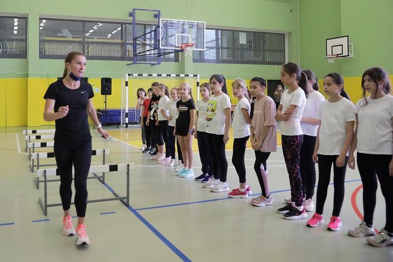 Столичные школьники приняли участие в мастер-классе по легкой атлетике