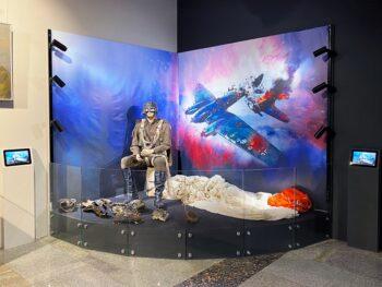 «Ночной таран Виктора Талалихина»: в Москве открылась выставка на основе экспозиции школьного музея
