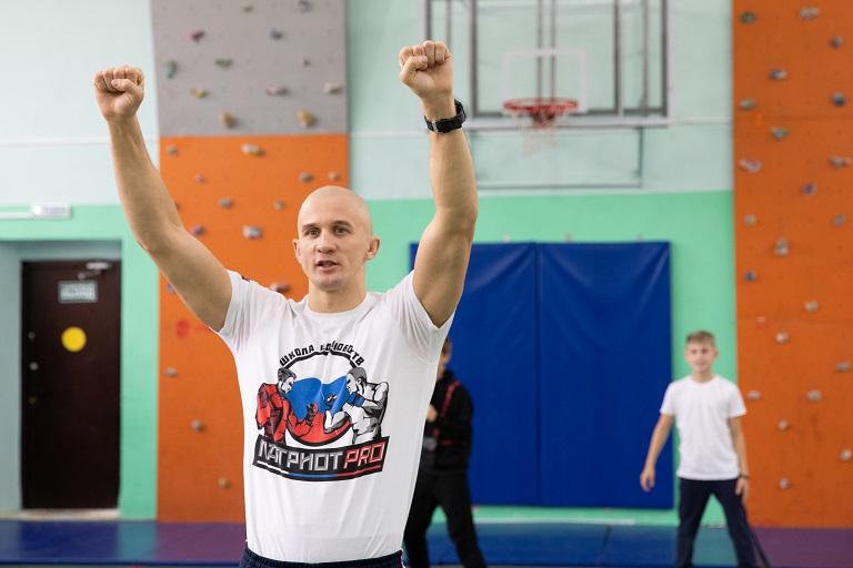 «Урок с чемпионом» состоялся в Первом Московском кадетском корпусе