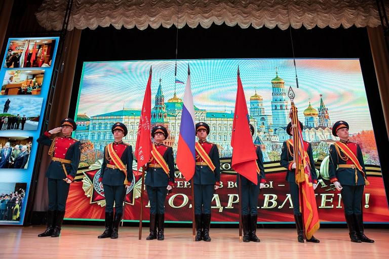 Московский центр «Патриот.Спорт» поздравил Московский комитет ветеранов войны с юбилеем