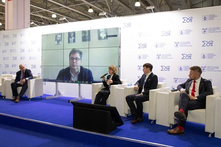 На Московском международном салоне образования обсудили роль экологического воспитания и культуру разумного потребления в современном обществе